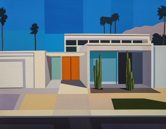"Andy Burgess - ""Palm Springs House II"""