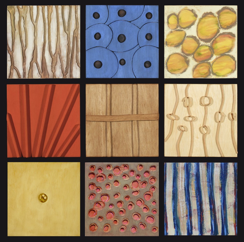 "Carol Redmond - ""Ten inch Box Series, Set of Nine"""
