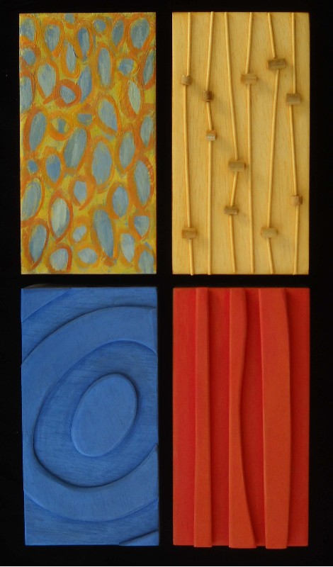 "Carol Redmond - ""Oblong Set of 4"""