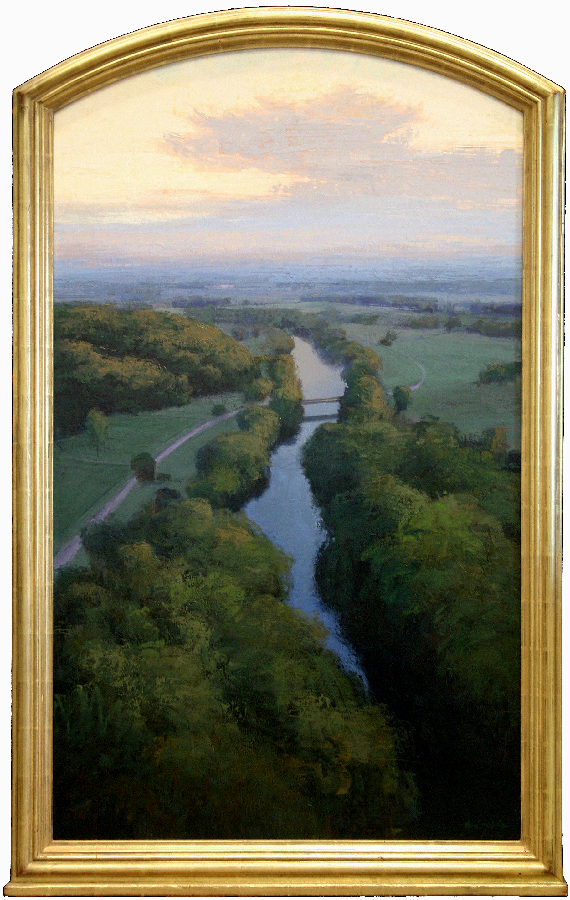 "Brad Aldridge - ""Bridge at Dawn"""