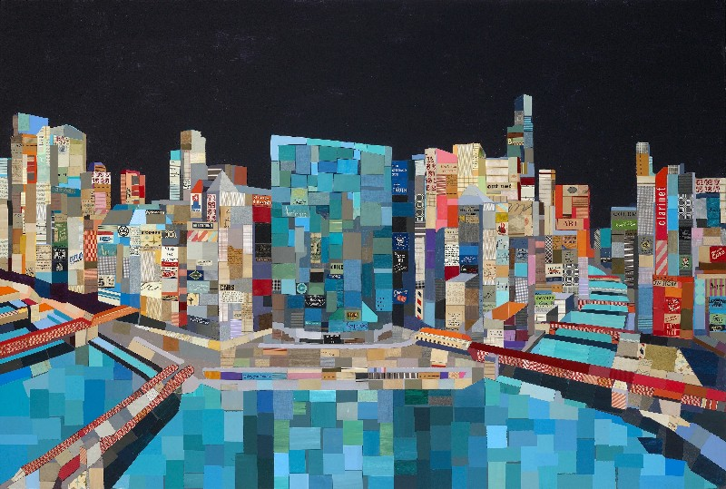 "Andy Burgess - ""Chicago Panorama"""