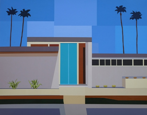 "Andy Burgess - ""Palm Springs House III"""