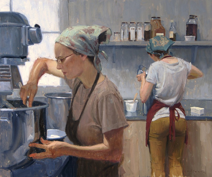"Eric Bowman - ""Bakery Girls"""