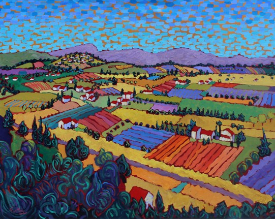 "Claudia Hartley - ""A Day in Provence"""