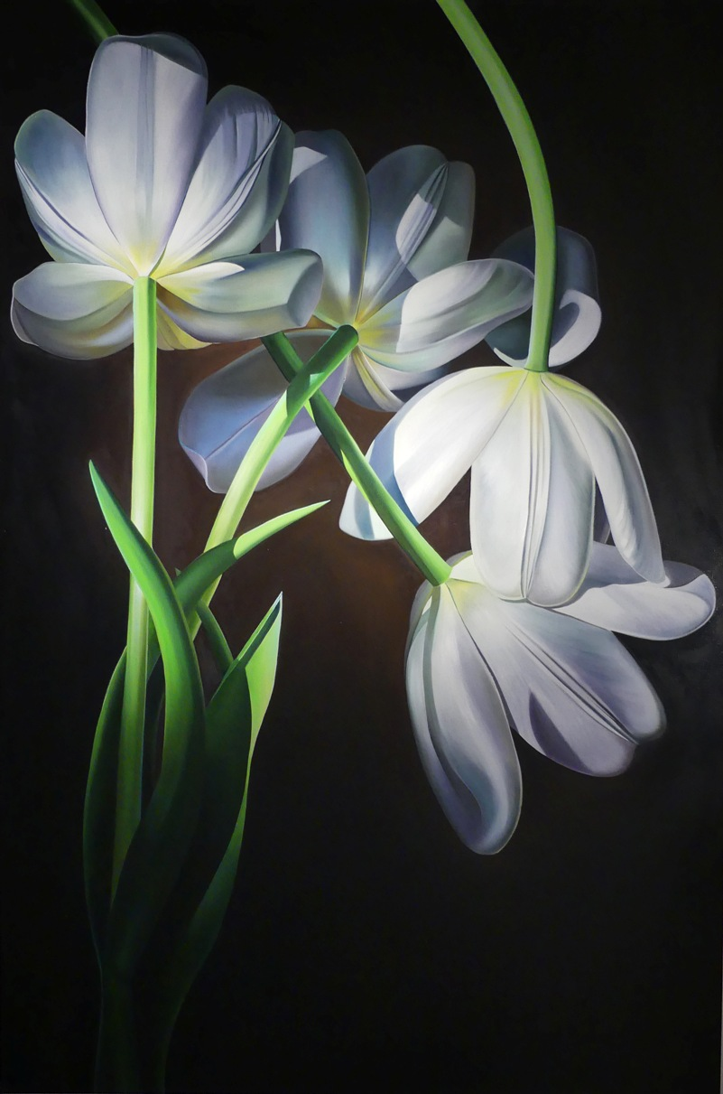 "Dyana Hesson - ""When Love Came Down, White Tulips"""