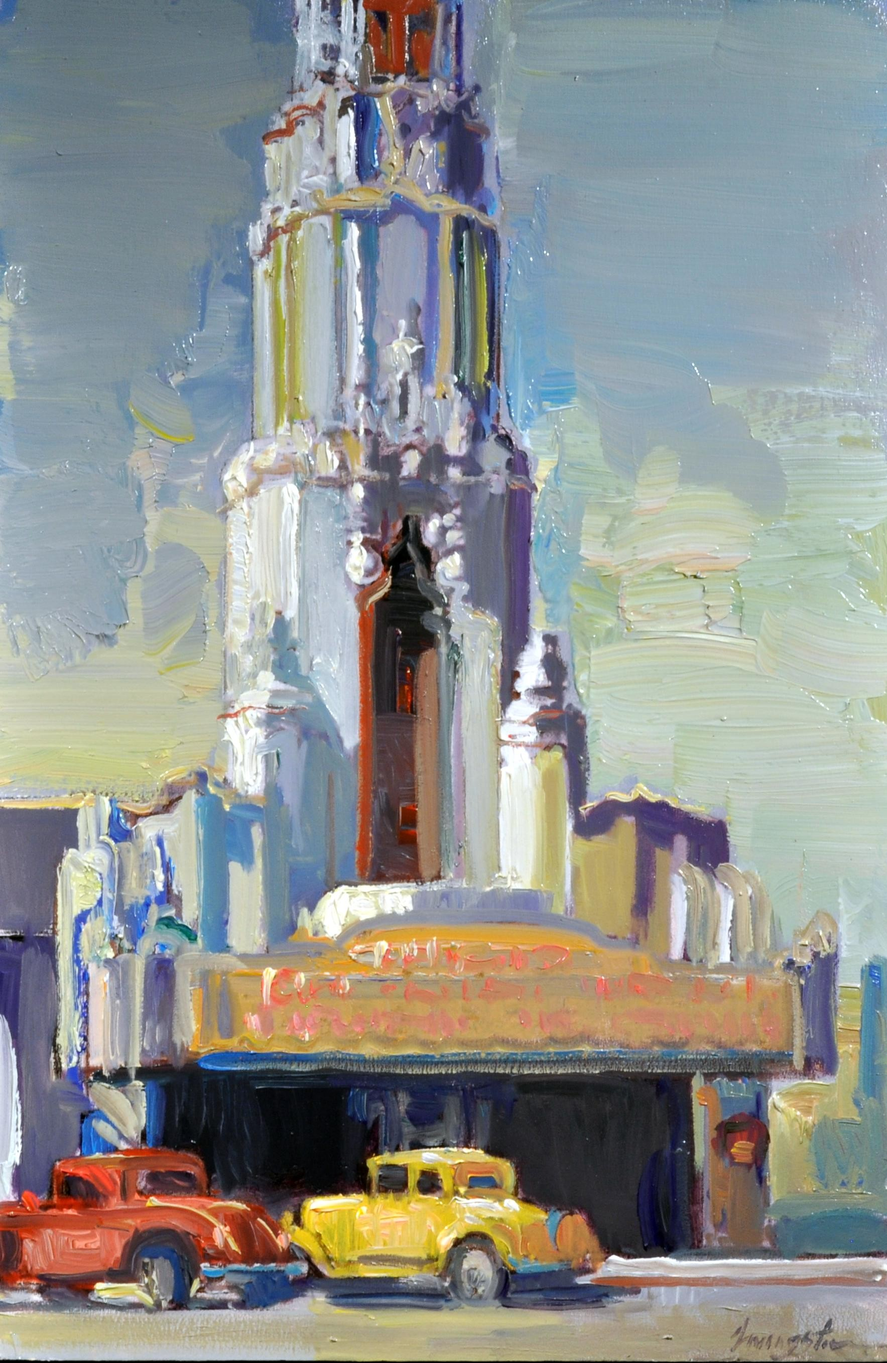 "Francis Livingston - ""Tower Theater"""