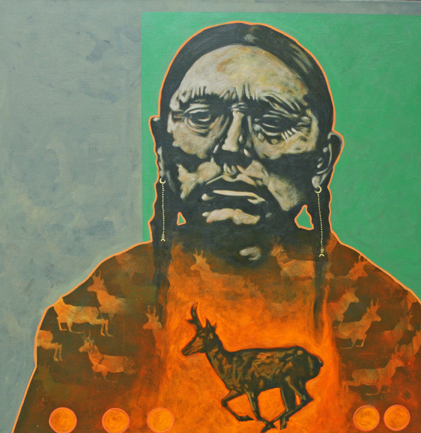"Nocona Burgess - ""Antelope Chief"""