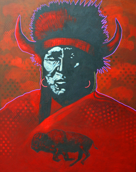 "Nocona Burgess - ""Red Buffalo"""