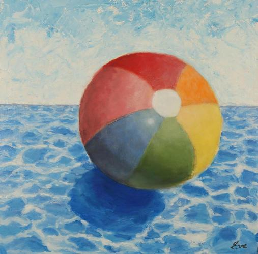 "Eve Plumb - ""Big Sky Beach Ball"""
