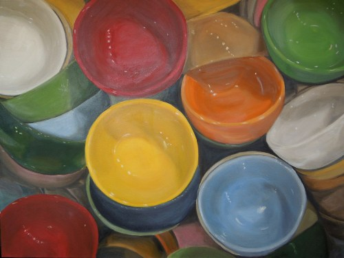 "Eve Plumb - ""Fishs Eddy Bowls Yellow Jewel"""