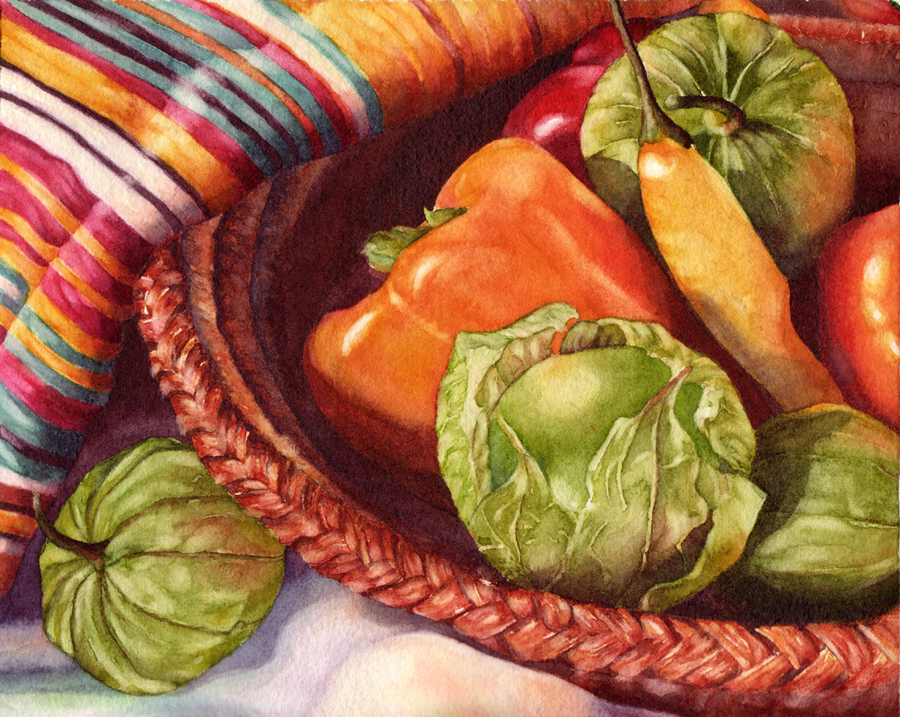 "Kathrine Lemke Waste - ""Late Summer Salsa with Tomatillos"""