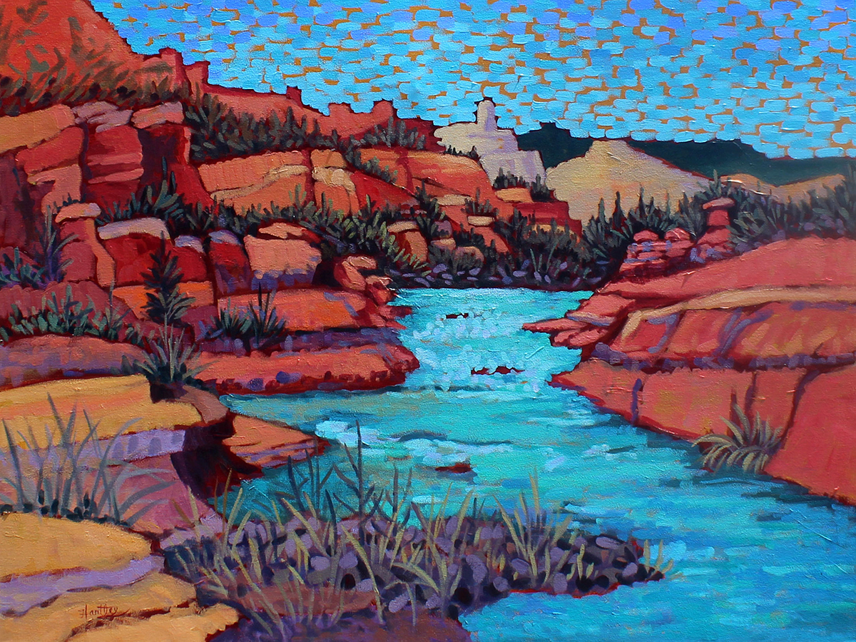 Claudia Hartley - Slide Rock Waters